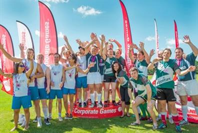 100 Days to go until the UK Corporate Games Stoke & Staffordshire 2018!